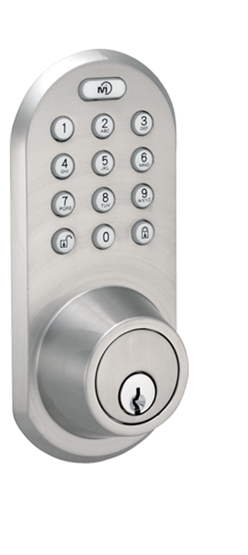 Keyless Entry Deadbolt Door Lock with Bluetooth and Electronic Digital Keypad