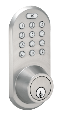 BLEF-02SN Keyless Entry Bluetooth and Keypad Door   Lock by MiLocks