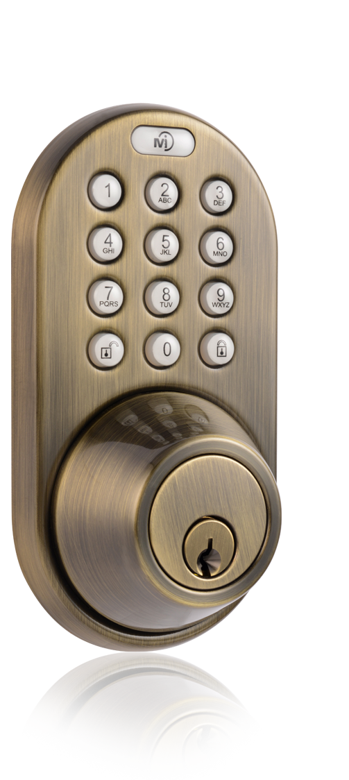 Milocks Df 02 Keyless Entry Deadbolt Door Lock With Electronic