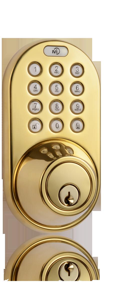 milocks df 02 keyless entry deadbolt door lock with electronic digital keypad. Black Bedroom Furniture Sets. Home Design Ideas