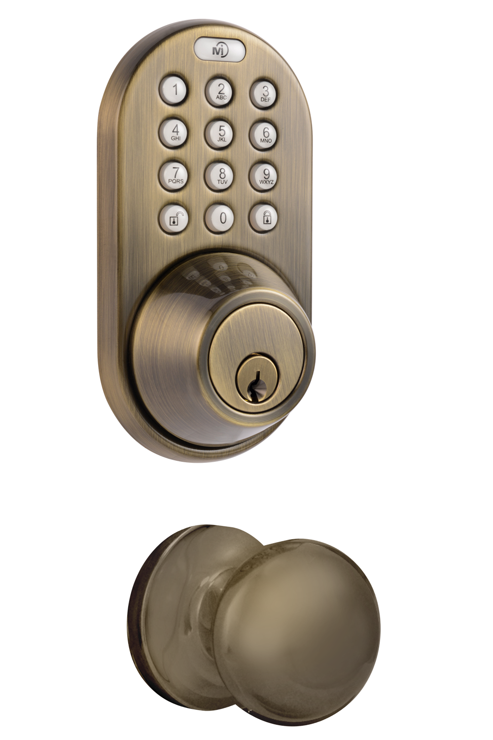 Keyless Entry Deadbolt and Door Knob Lock Combo Pack with Electronic Digital Keypad