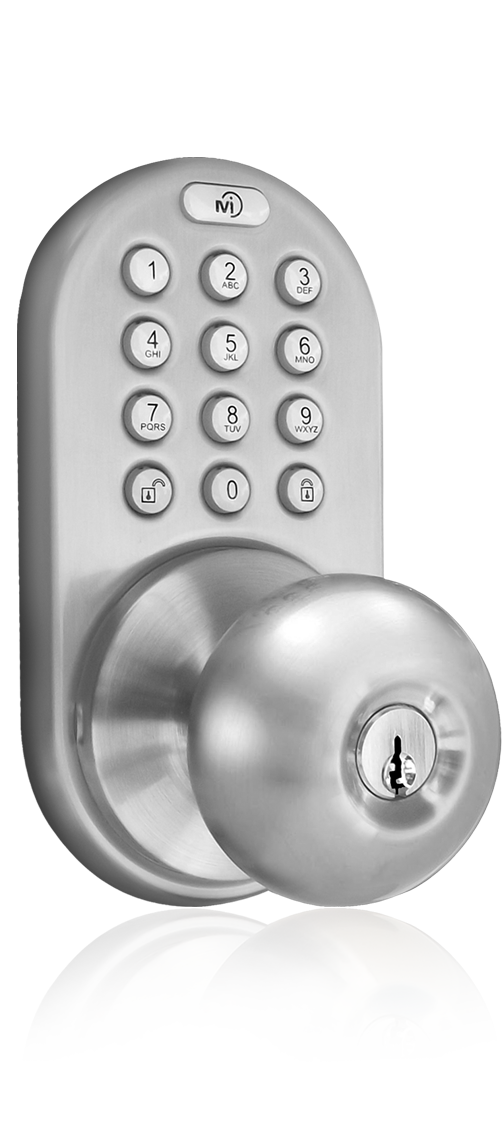 Lovely Keyless Entry Knob Door Lock With Electronic Digital Keypad