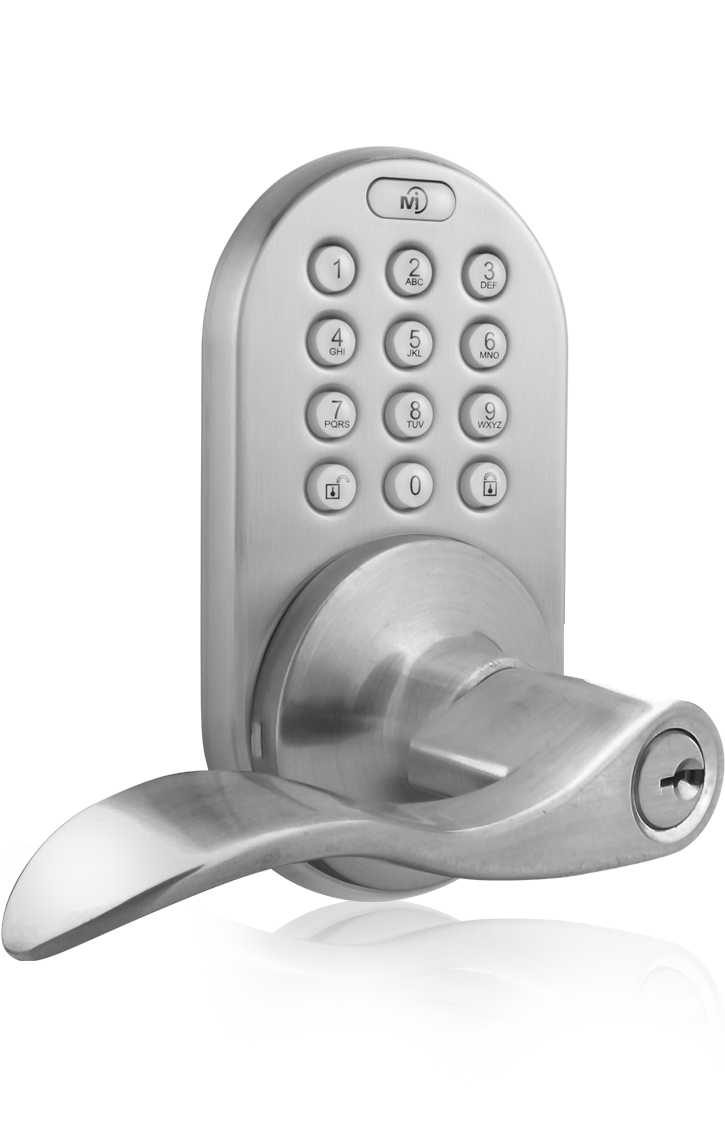 Keyless Entry Lever Handle Door Lock with Electronic Digital Keypad