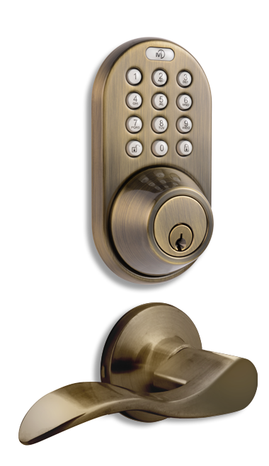DFL-02AQ Keyless Entry Keypad Door   Lock by MiLocks