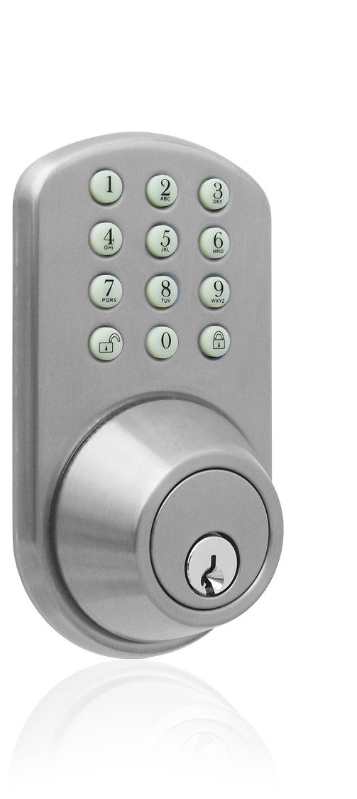 Keyless Entry Deadbolt Door Lock With Electronic Digital Keypad