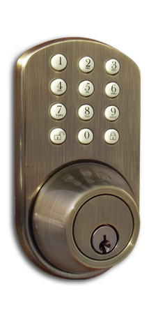 TF-02AQ Keyless Entry Keypad Door   Lock by MiLocks