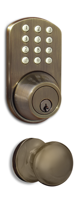 TFK-02AQ Keyless Entry Keypad Door   Lock by MiLocks