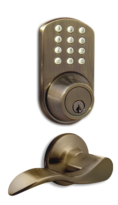 TFL-02AQ Keyless Entry Keypad Door   Lock by MiLocks