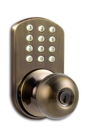 TKK-02AQ Keyless Entry Keypad Door   Lock by MiLocks