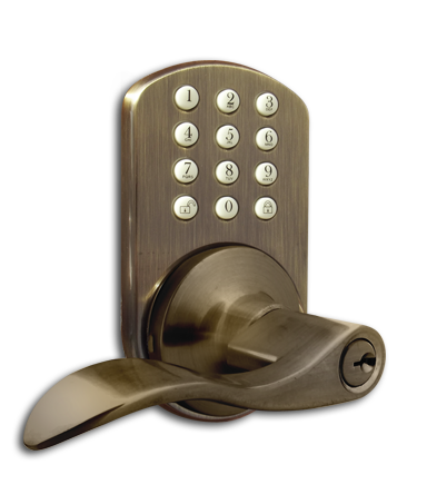 TKL-02AQ Keyless Entry Keypad Door   Lock by MiLocks