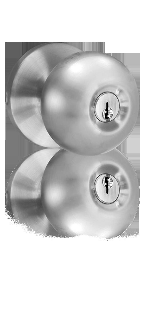 MiLocks WKK-02 Keyless Entry Knob Door Lock with RF Remote Control