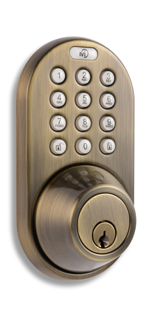 XF-02AQ Keyless Entry Remote Control and Keypad Door   Lock by MiLocks