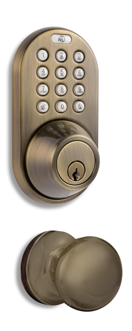 XFK-02AQ Keyless Entry Remote Control and Keypad Door   Lock by MiLocks