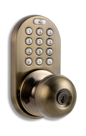 XKK-02AQ Keyless Entry Remote Control and Keypad Door   Lock by MiLocks